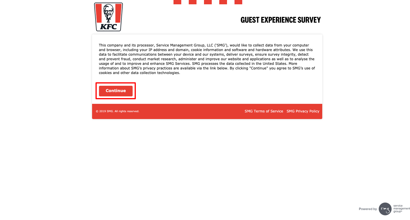 YourKFC Customer Satisfaction Survey