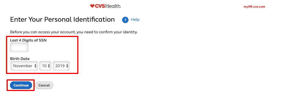 cvs health employee new user registration