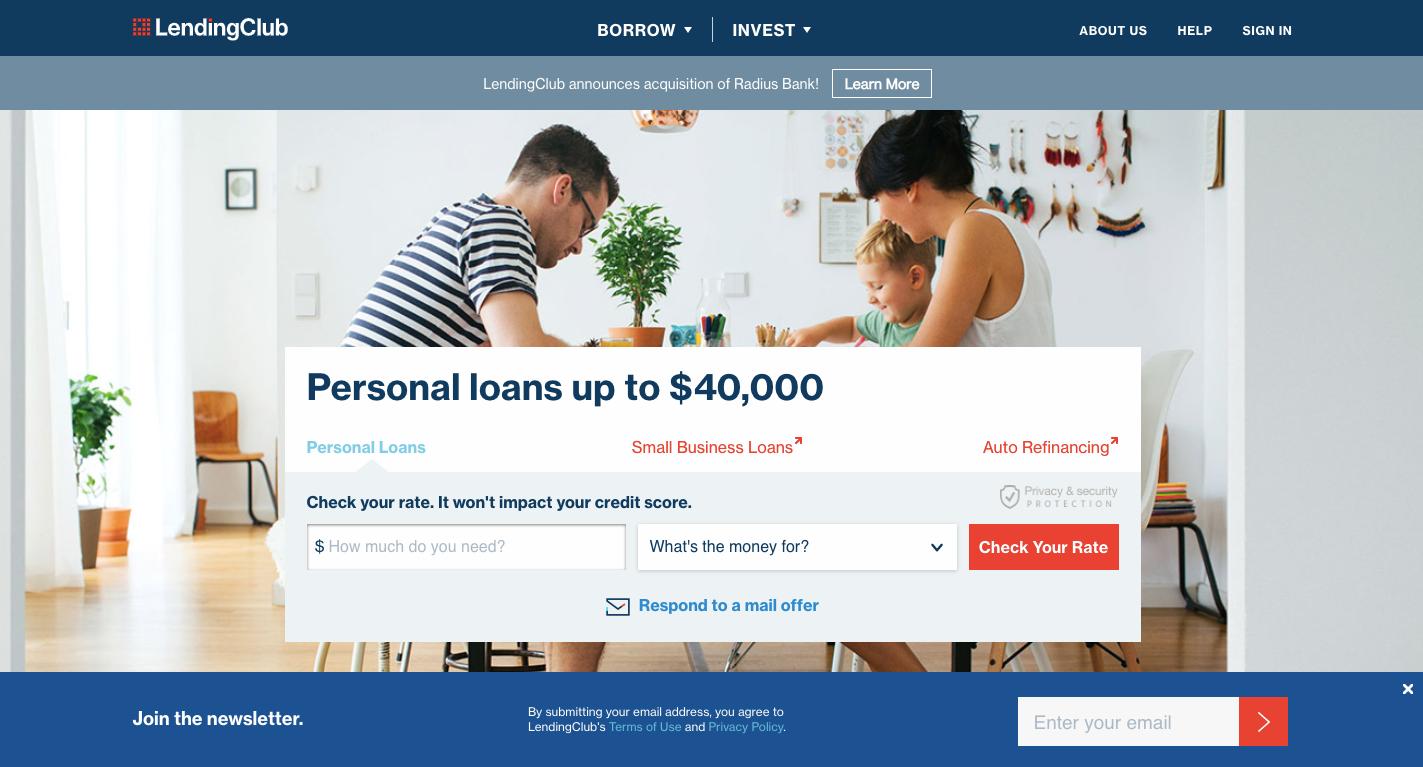 lending club Auto Loan Refinance