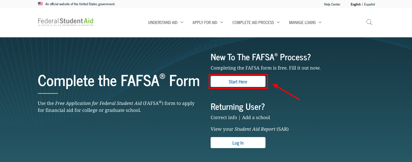 New To The FAFSA® Process