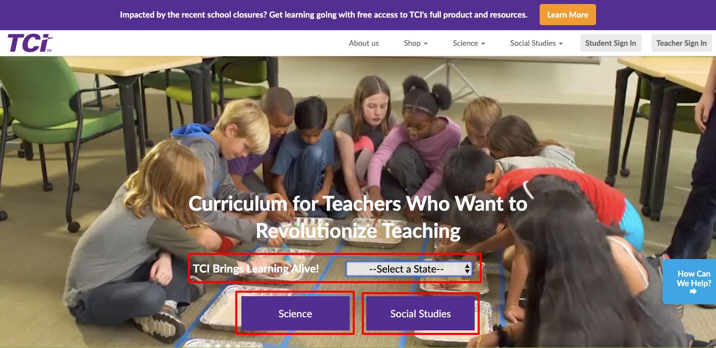 TCI brings learning alive