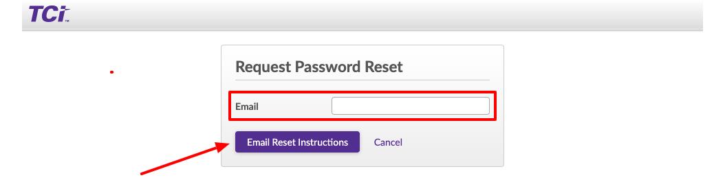 TeachTCI Teacher forgot password