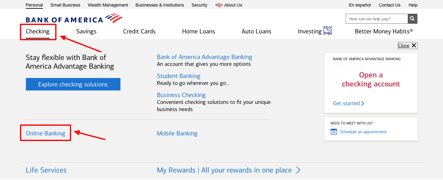 bank of america mobile app download