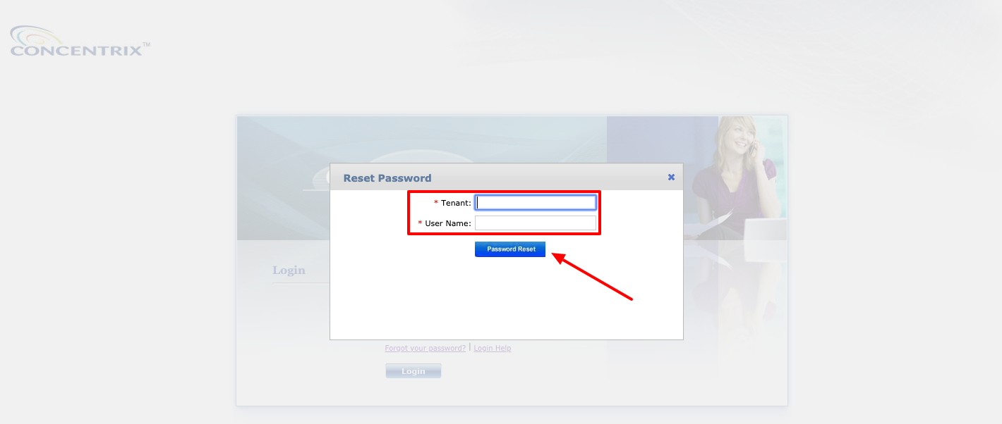 Convergys reset password