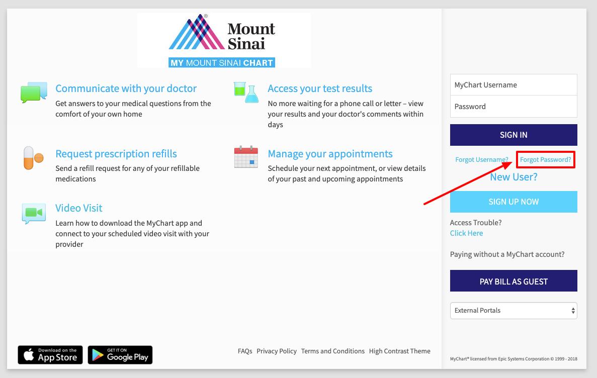 Mount Sinai Login