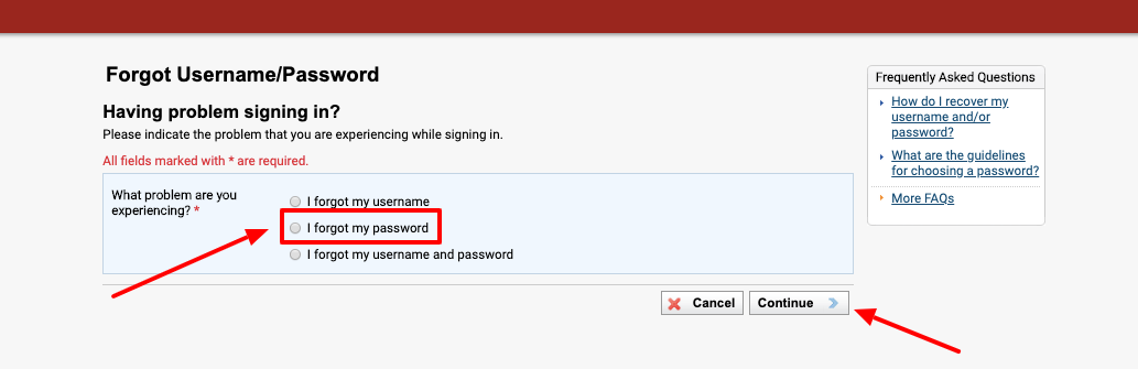 Phoenix eCampus Forgot Username Password