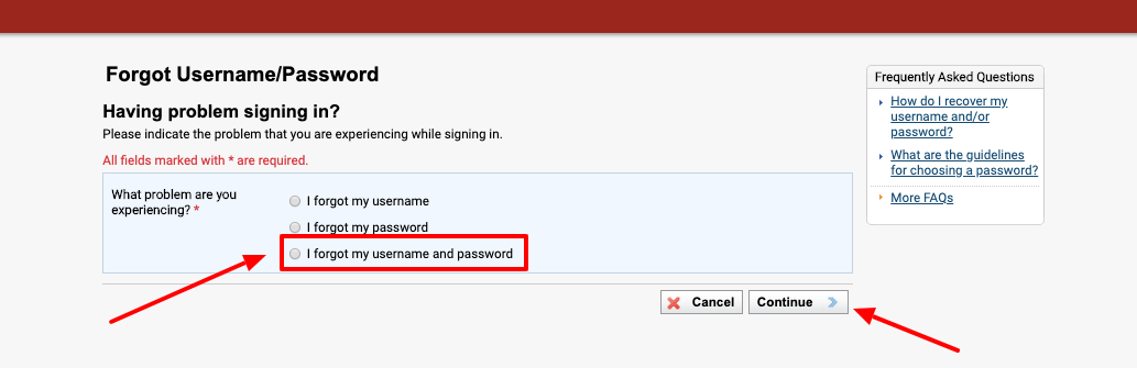Phoenix eCampus Forgot Username and Password