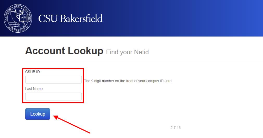CSU NetID lookup