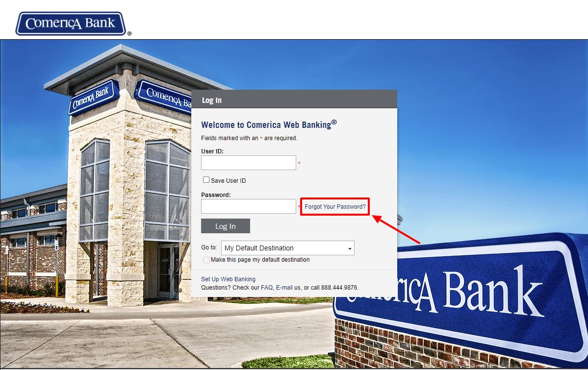 Web Banking Comerica Com Login