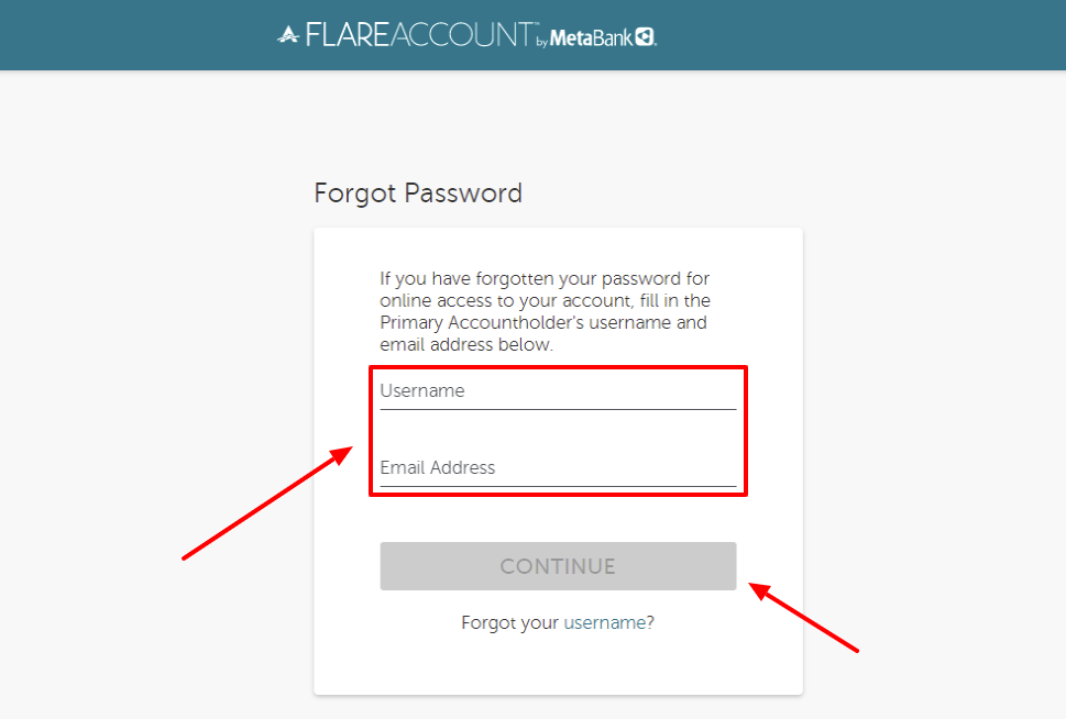 ace flare account forgot password