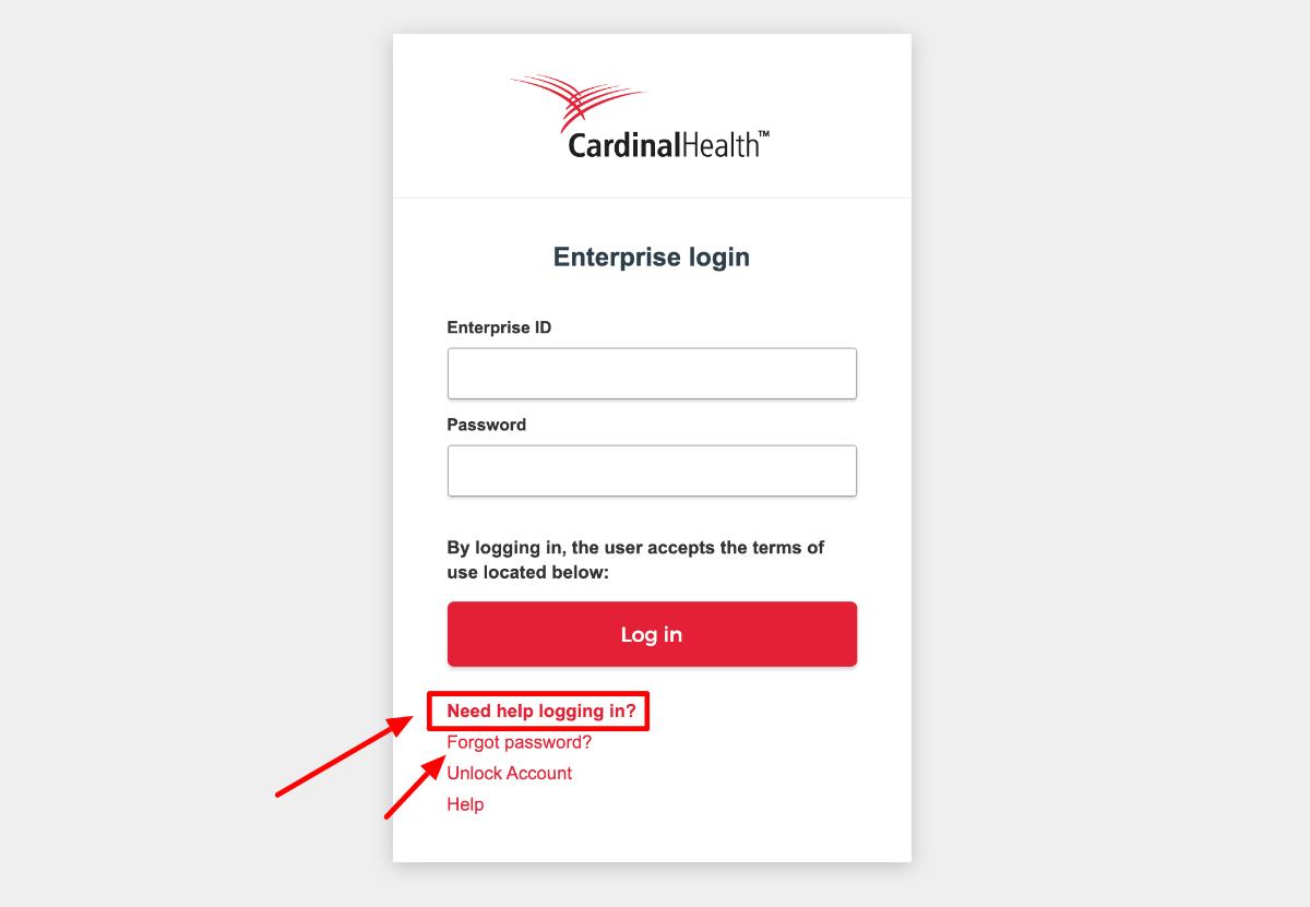 Retrieve Cardinal Health Workday Login